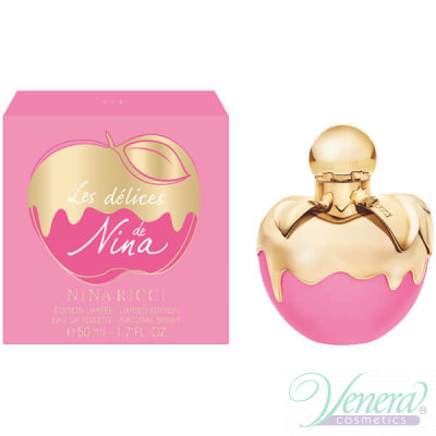 Nina Ricci Les Delices de Nina EDT 50ml for Women Women's Fragrance