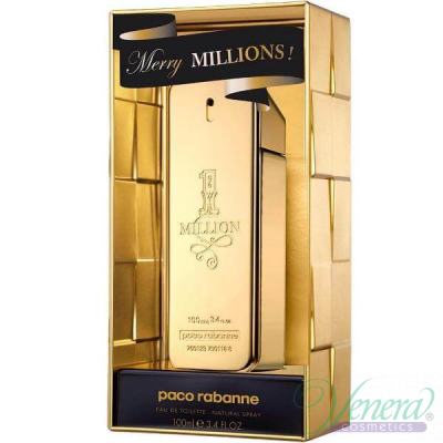 Paco Rabanne 1 Million Merry Millions EDT 100ml за Мъже Мъжки Парфюми