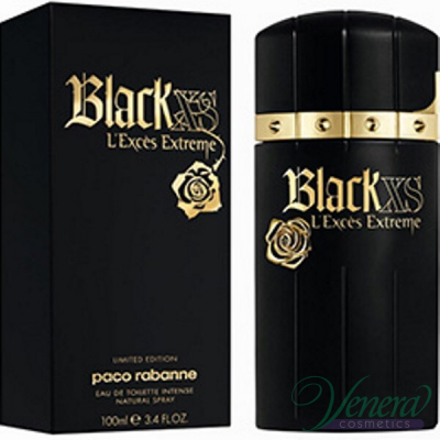 Paco Rabanne Black XS L'Exces Extreme EDT 100ml за Мъже Мъжки Парфюми