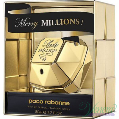 Paco Rabanne Lady Million Merry Millions EDP 80ml за Жени Дамски Парфюми