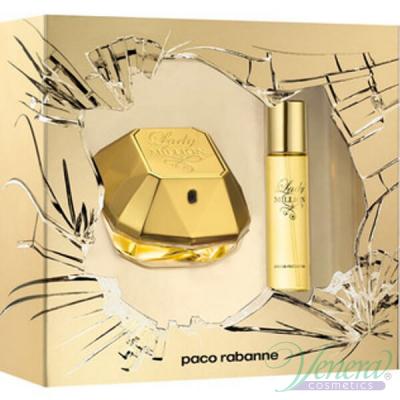 Paco Rabanne Lady Million Комплект (EDP 50ml + EDP 15ml) за Жени