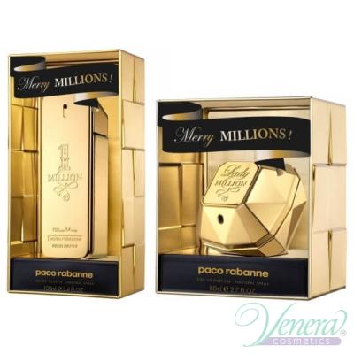 Paco Rabanne Lady Million Merry Millions EDP 80ml за Жени Дамски Парфюми