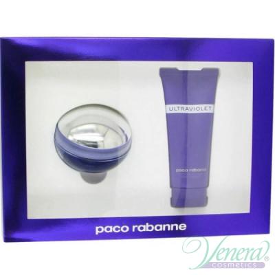 Paco Rabanne Ultraviolet Комплект (EDT 80ml + Body Lotion 100ml) за Жени За Жени