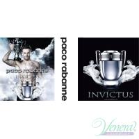 Paco Rabanne Invictus Set (EDT 50ml + EDT 10ml + Deo Spray 150ml) for Men Men's Gift Sets