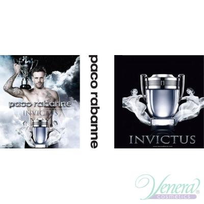 Paco Rabanne Invictus Комплект (EDT 50ml + EDT 10ml + Deo Spray 150ml) за Мъже Мъжки Комплекти