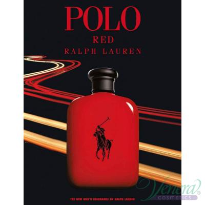 Ralph Lauren Polo Red EDT 125ml за Мъже БЕЗ ОПАКОВКА Мъжки Парфюми без опаковка