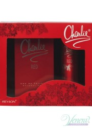 Revlon Charlie Red Set (EDT 100ml + Deo 75ml) για γυναίκες