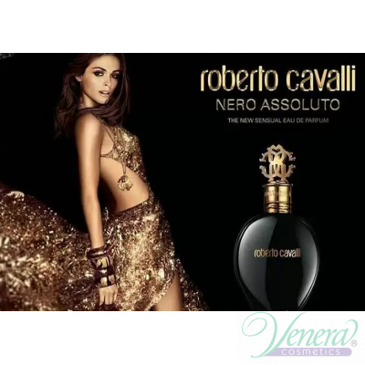 Roberto Cavalli Nero Assoluto EDP 75ml for Women Without Package Products without package