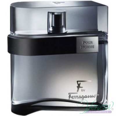 Salvatore Ferragamo F by Ferragamo Black EDT 100ml за Мъже БЕЗ ОПАКОВКА