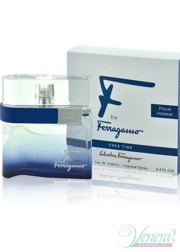 Salvatore Ferragamo F by Ferragamo Free Time EDT 100ml για άνδρες Men's Fragrance