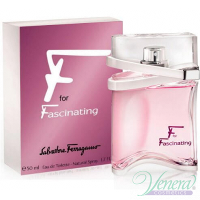 Salvatore Ferragamo F for Fascinating EDT 50ml за Жени Дамски Парфюми