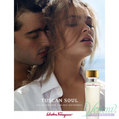 Salvatore Ferragamo Tuscan Soul EDT 125ml за Мъже и Жени БЕЗ ОПАКОВКА За Мъже