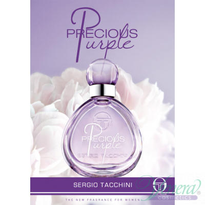 Sergio Tacchini Precious Purple EDT 100ml за Жени БЕЗ ОПАКОВКА Дамски Парфюми