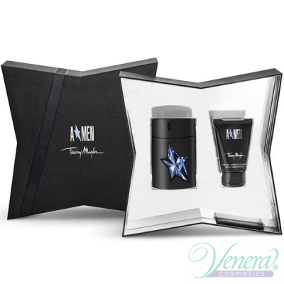 Thierry Mugler A*Men Комплект (EDT 50ml + SG 50ml)  за Мъже