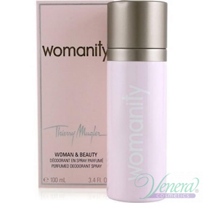 Thierry Mugler Womanity Deodorant Spray 100ml за Жени