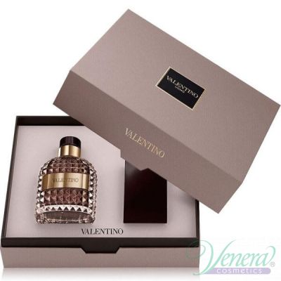 Valentino Uomo Комплект (EDT 50ml + Shower Gel 100ml) за Мъже За Мъже