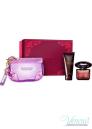 Versace Crystal Noir Комплект (EDT 90ml + BL 100ml + Bag) за Жени