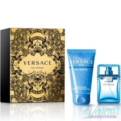Versace Man Eau Fraiche Set (EDT 30ml + Shower Gel 50ml) για άνδρες