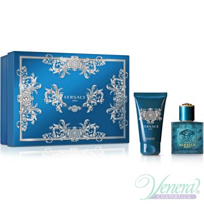 Versace Eros Комплект (EDT 30ml + Shower Gel 50ml) за Мъже