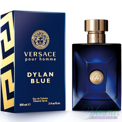 Versace Pour Homme Dylan Blue EDT 100ml за Мъже Мъжки Парфюми