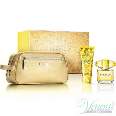 Versace Yellow Diamond Комплект (EDT 90ml + BL 100ml + Bag) за Жени