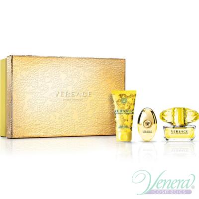 Versace Yellow Diamond Комплект (EDT 50ml + EDT 10ml + BL 50ml) за Жени
