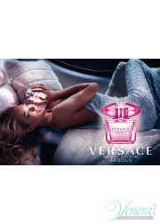 Versace Bright Crystal Absolu Set (EDP 90ml + EDP Roll On 10ml + SG 150ml) για γυναίκες Γυναικεία σετ