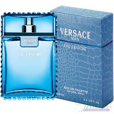 Versace Man Eau Fraiche EDT 50ml за Мъже Мъжки Парфюми