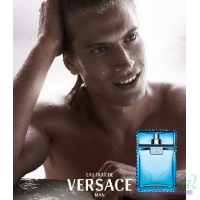 Versace Man Eau Fraiche Set (EDT 100ml + EDT 10ml + Bag) for Men Men's Gift sets