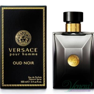 Versace Pour Homme  Oud Noir EDP 100ml за Мъже Мъжки Парфюми