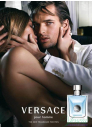 Versace Pour Homme Комплект (EDT 50ml + Shower Gel 50ml + Shampoo 50ml) за Мъже За Мъже