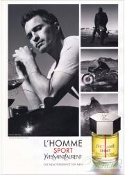 YSL L'Homme Sport EDT 60ml for Men Men's Fragrance