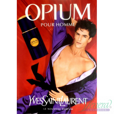 YSL Opium Pour Homme EDT 50ml за Мъже Мъжки Парфюми